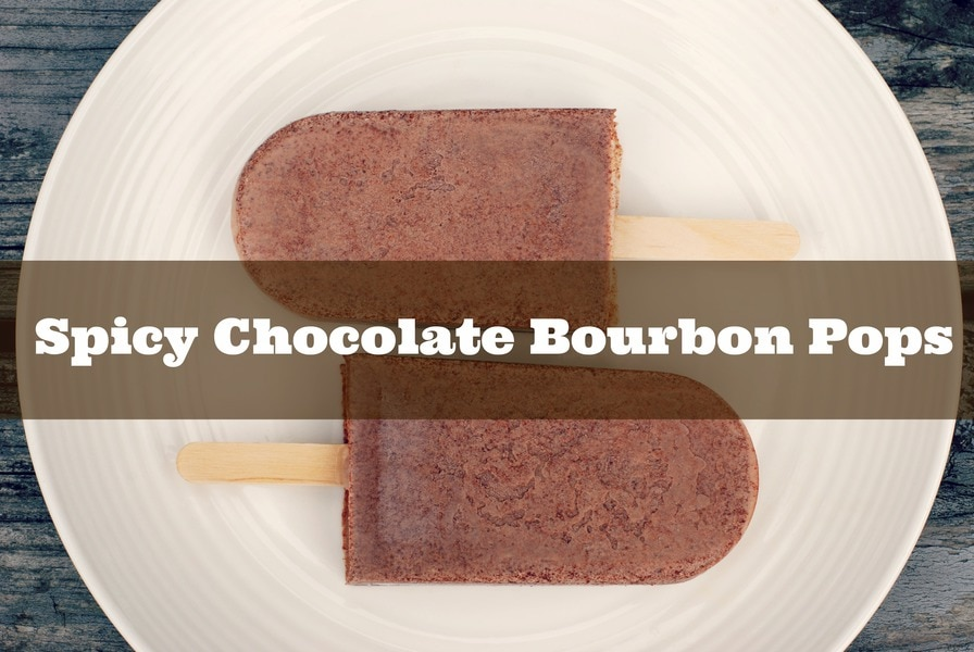Spicy Chocolate Bourbon Pops