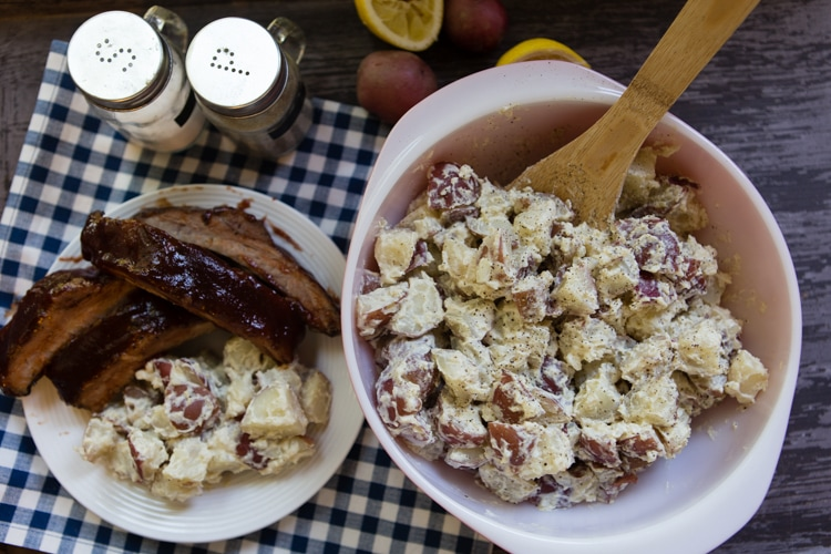 Lemon-Horseradish Potato Salad