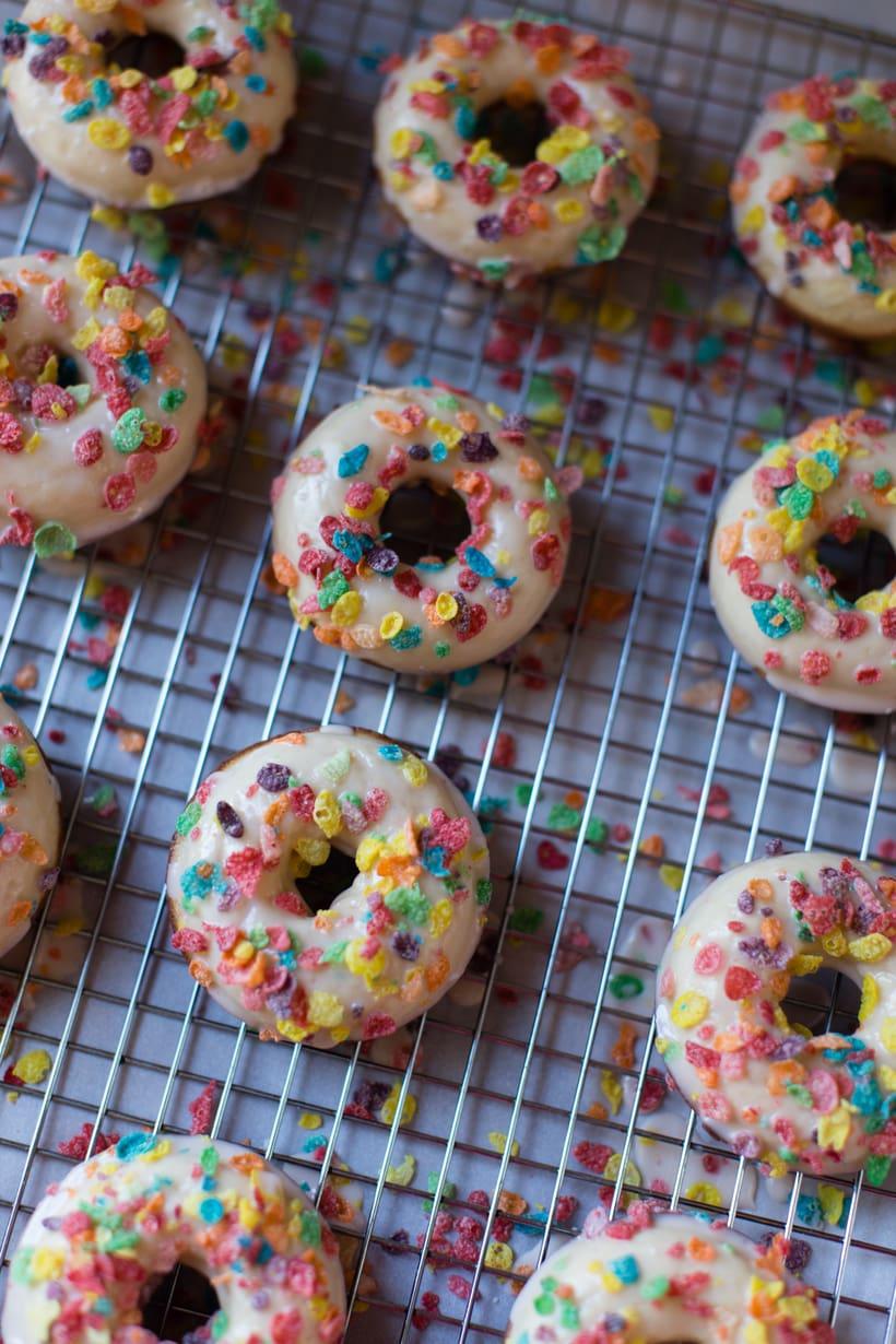 Fruity Pebbles Donuts Recipe